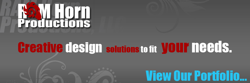 Creative design solutions to fit your needs! View Our Portfolio...