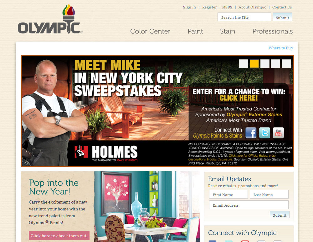 Meet Mike In New York City Sweepstakes