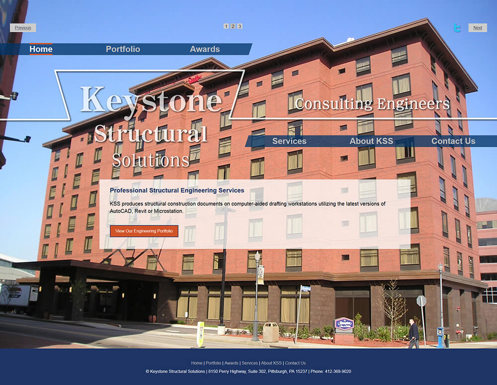 Keystone Structural Solutions Website